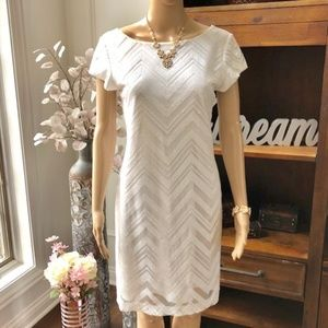 Beautiful Ivory Sequin Dress